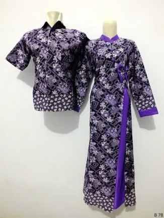 Sarimbit gamis batik argreen B78