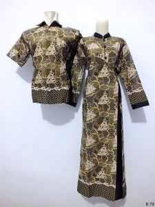 Sarimbit gamis batik argreen -B79