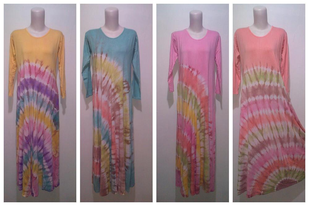 Baju Batik Modern Pekalongan Gamis Spandek Jemputan