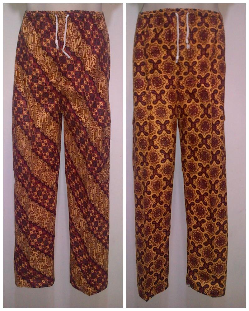 Celana Batik Modern Pria: Pusat Grosir Baju Batik Modern
