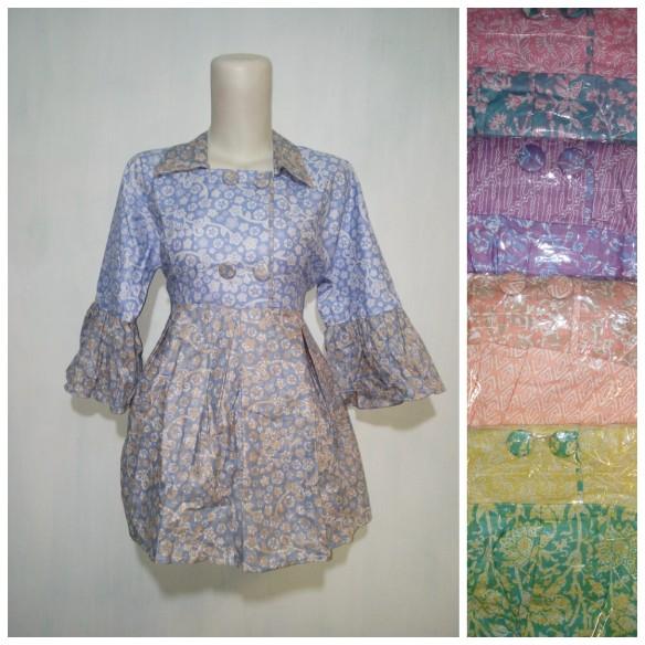 baju kantor batik argreen 101