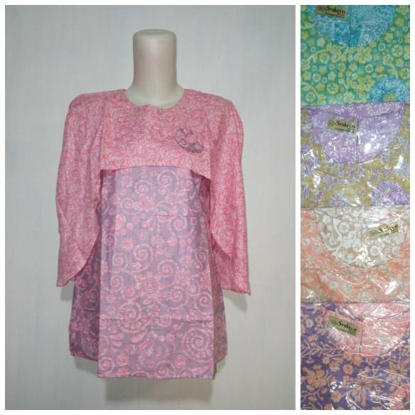 baju kantor batik argreen 103