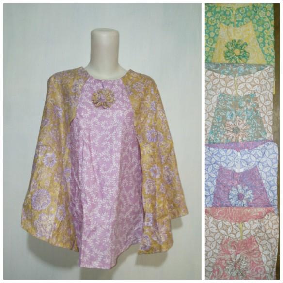 baju kantor batik argreen 104