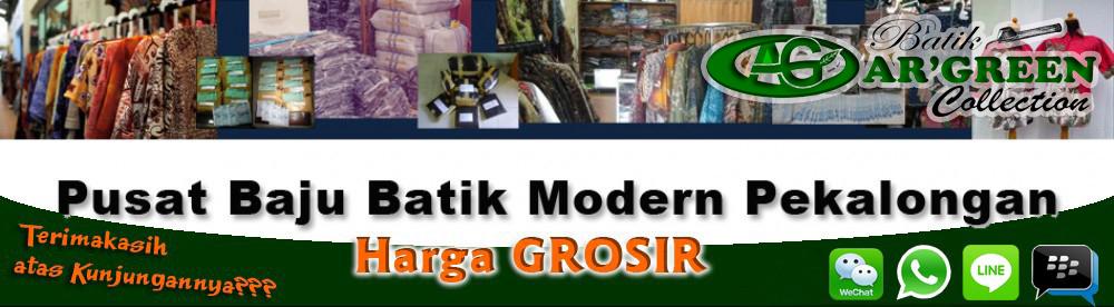 Pusat grosir daster baju batik modern pekalongan murah