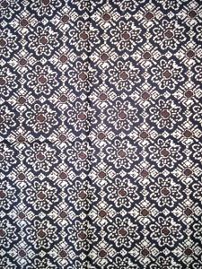 Kain Batik Hitam Putih Argreen 03
