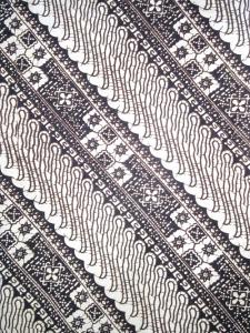 Kain Batik Hitam Putih Argreen 06