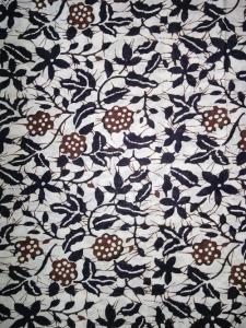 Kain Batik Hitam Putih Argreen 08
