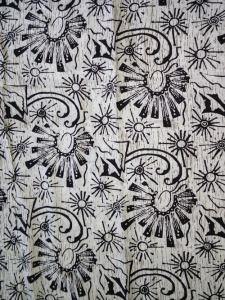Kain Batik Hitam Putih Argreen 14