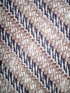 Kain Batik Hitam Putih Argreen 16