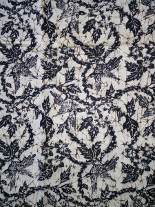 Kain Batik Hitam Putih Argreen 19