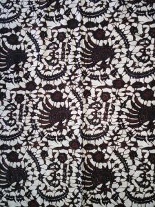 Kain Batik Hitam Putih Argreen 20