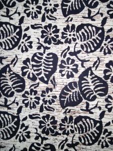 Kain Batik Hitam Putih Argreen 21