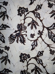 Kain Batik Hitam Putih Argreen 22