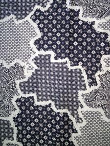 Kain Batik Hitam Putih Argreen 23