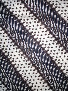 Kain Batik Hitam Putih Argreen 25