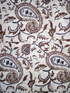 Kain Batik Hitam Putih Argreen 28