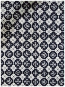Kain Batik Hitam Putih Argreen 35