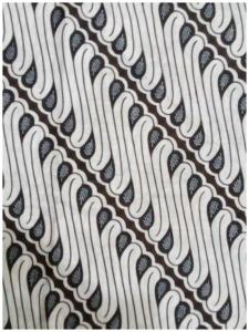 Kain Batik Hitam Putih Argreen 36