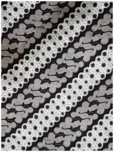 Kain Batik Hitam Putih Argreen 39