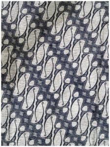 Kain Batik Hitam Putih Argreen 40