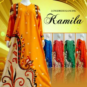 Longdress batik argreen 107