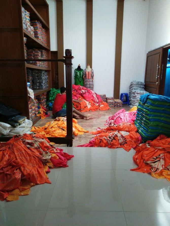 Produksi Batik argreen Pekalongan