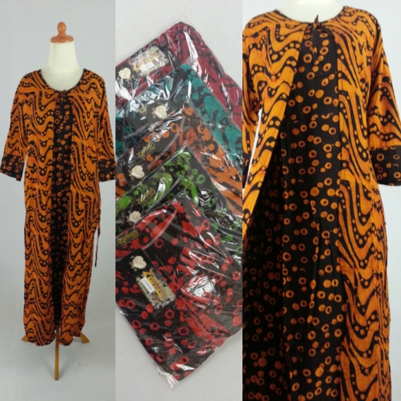 longdress batik cardigan